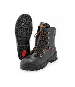 Buty skórzane Function do pracy z pilarką