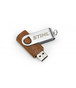 STIHL Drewniany pendrive 16 GB